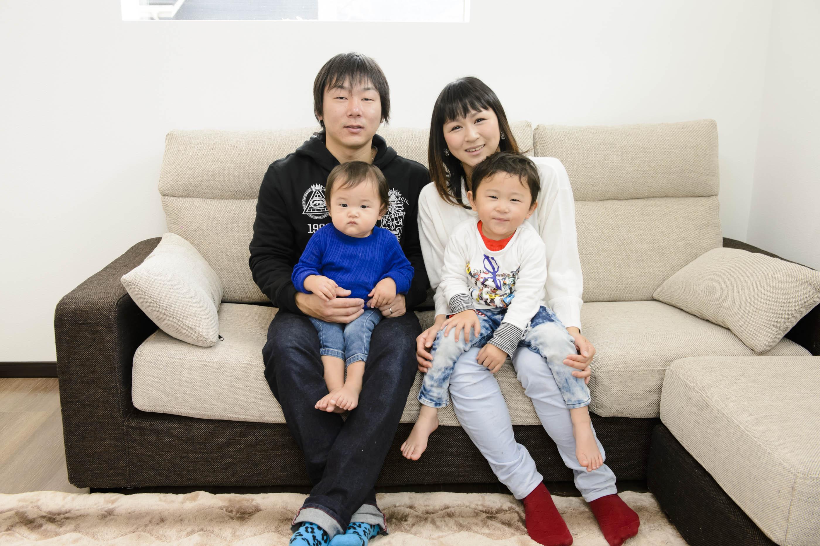 徳島市の実例・家族みんなが気兼ねせずに生活できる家