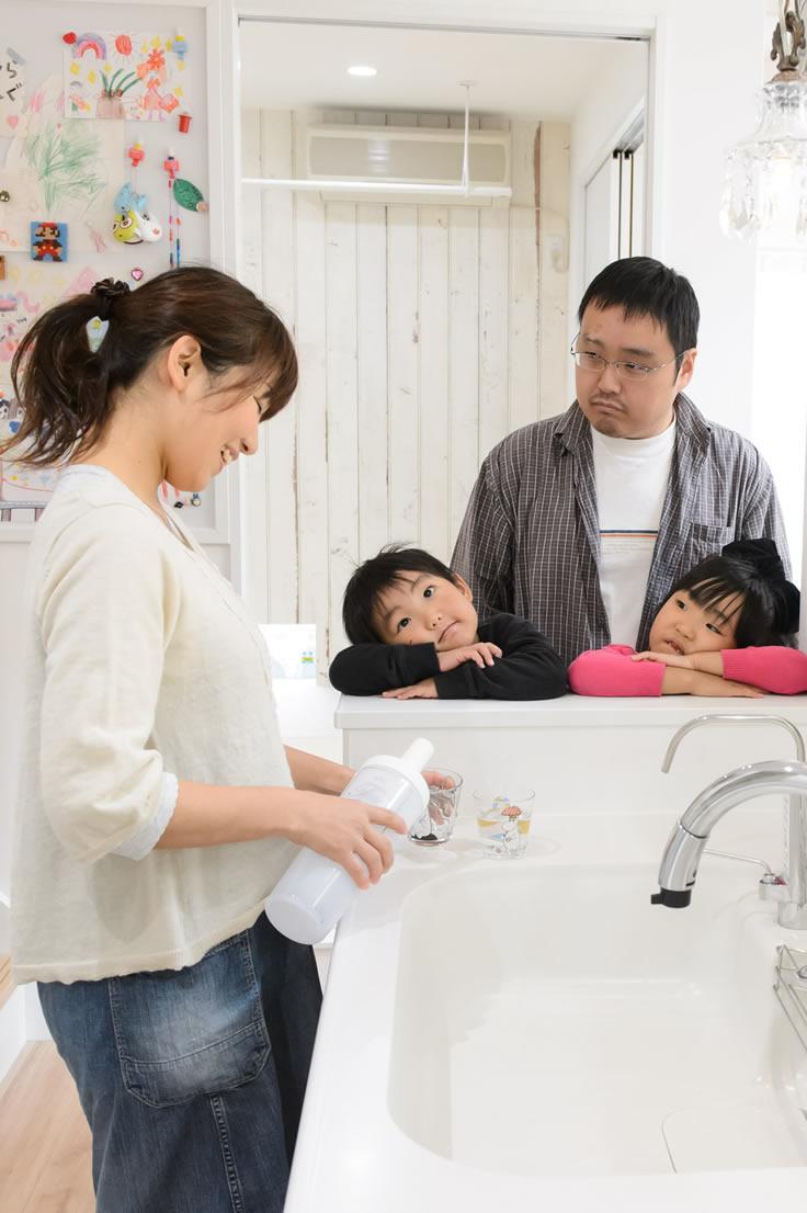 和歌山の実例・子供たちの笑顔を守る安心できる家