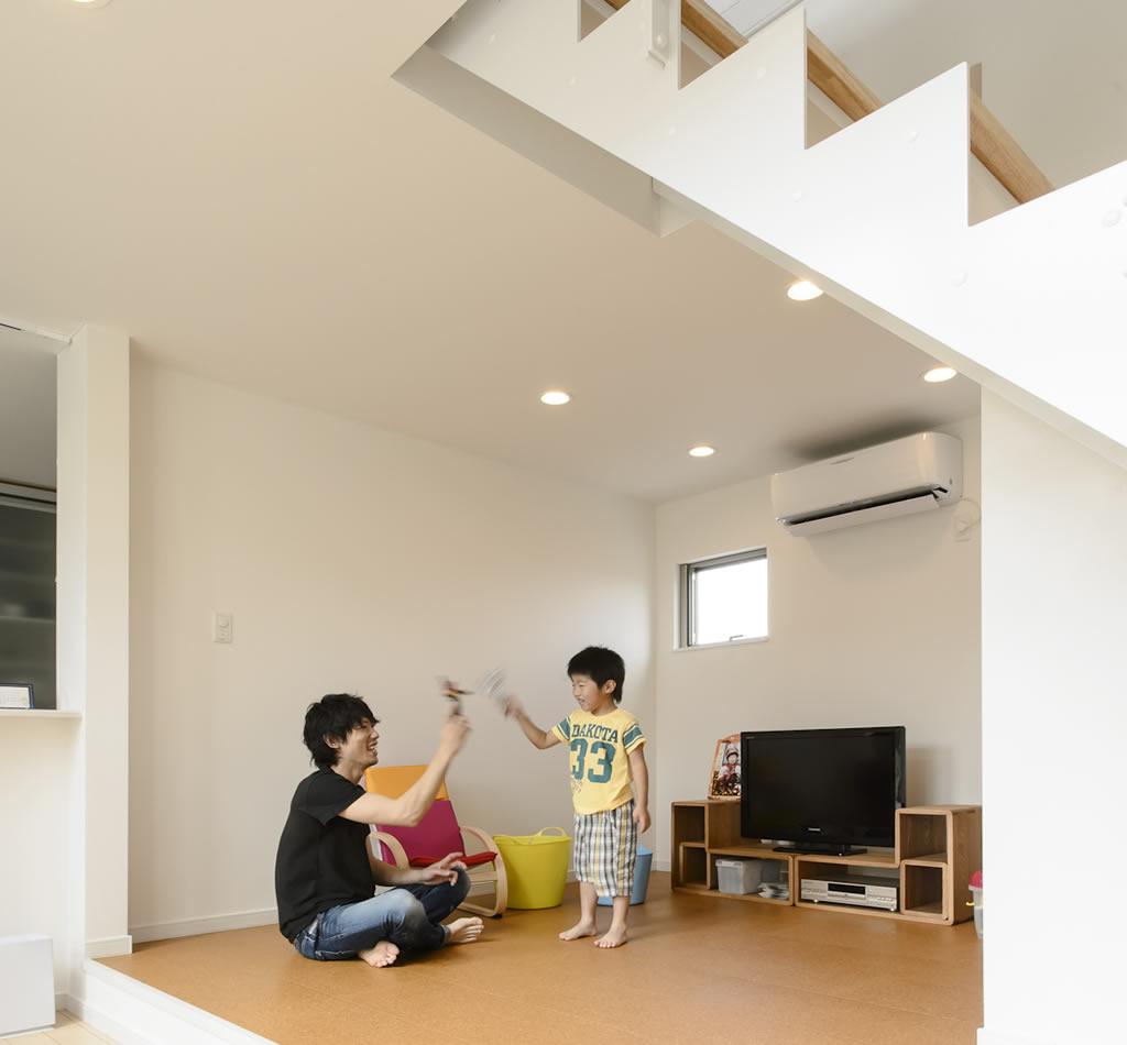 熊谷の実例・外観デザインと間取りに一目惚れした理想的な住まい