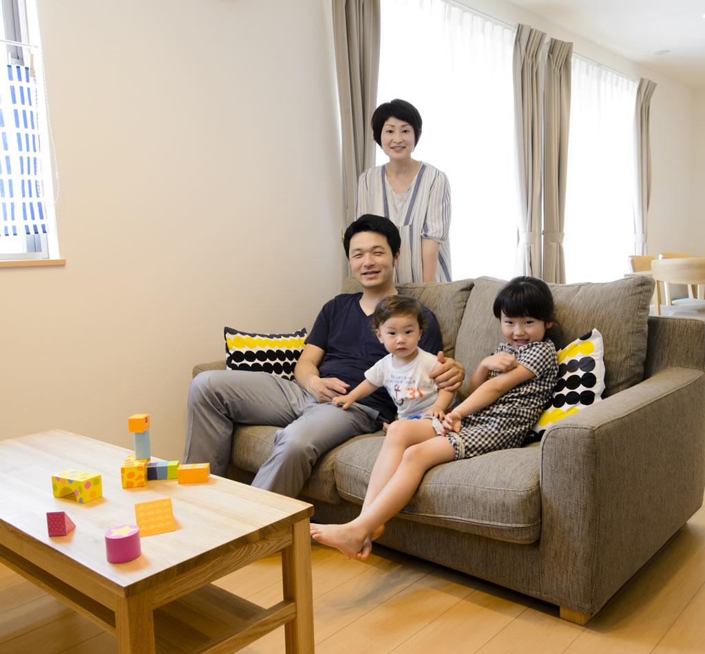沼津の実例・子育て応援型住宅で子供たちと楽しく過ごせる家