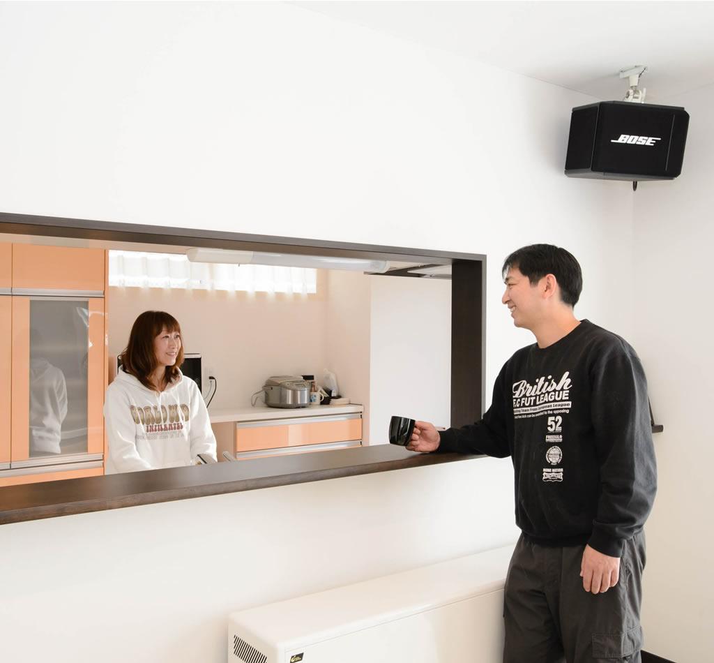 福島の実例・デザインに魅了され家族のために選んだ理想の住まい