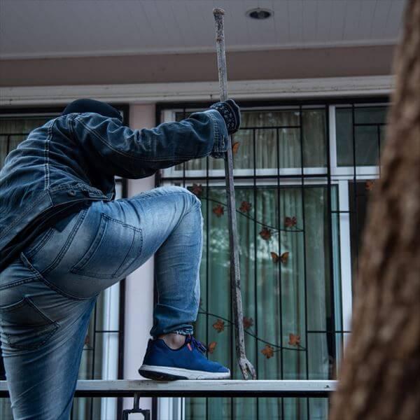 家づくりでできる空き巣対策