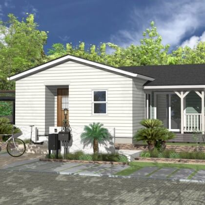 DESIGNED FLAT HOUSE